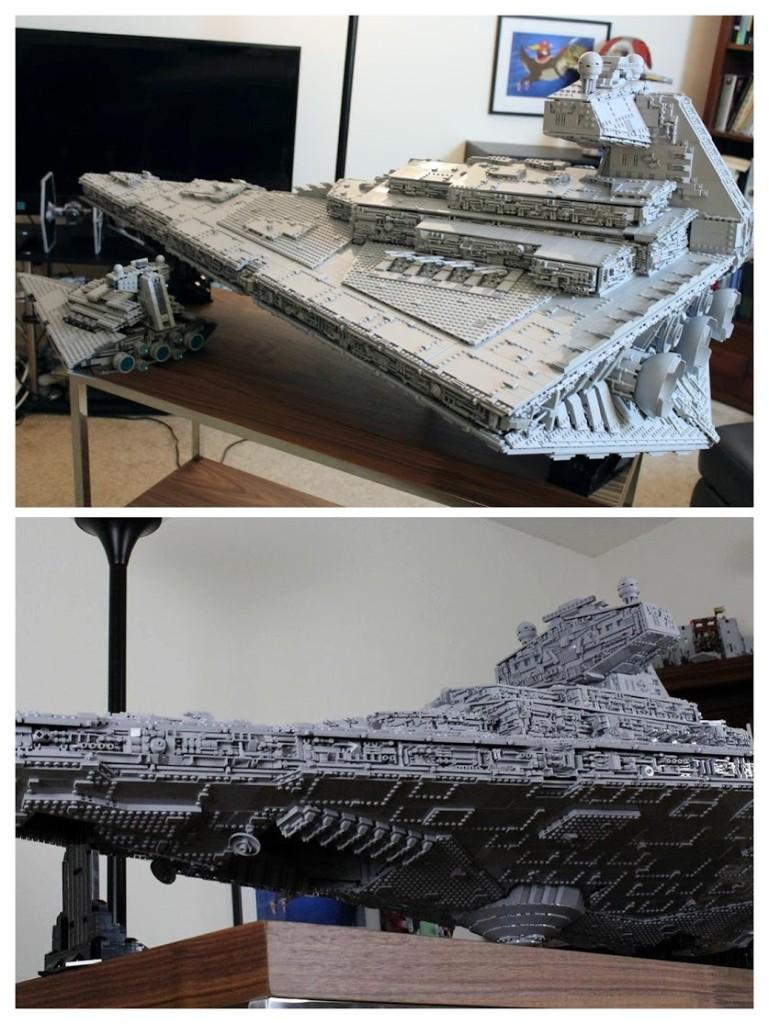 Igen, az alja nem olyan részletgazdag mint a teteje, de azt hiszem ezen nem kell fennakadni. Ez a hajó instant need így is!