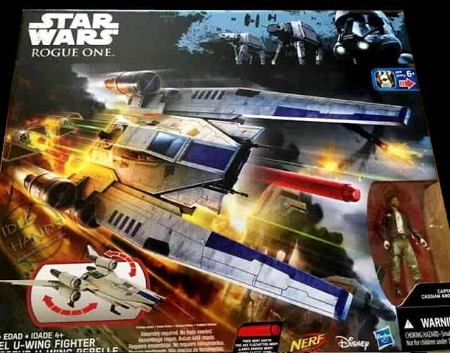 Star Wars Rogue One Hasbro Rebel U-Wing Fighter