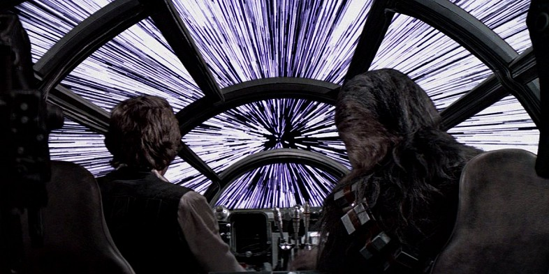 Hyperspace-falcon