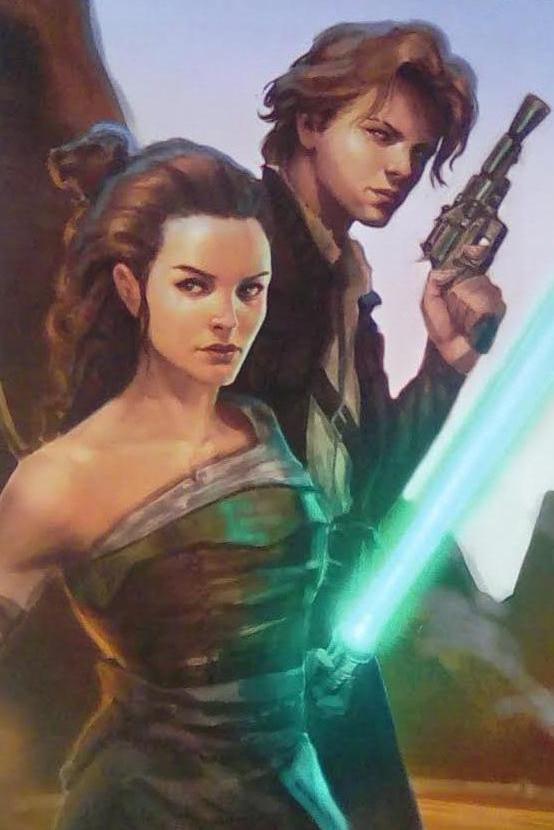 kira and sam star wars