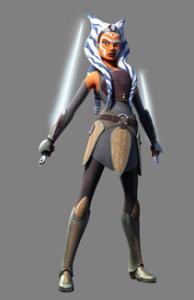 Ashoka Tano, mint szürke Jedi